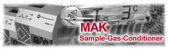 MAK 10 Sample Gas Conditioning