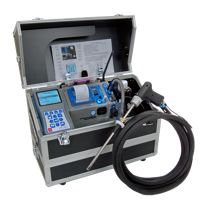 ECOM J2KN Analyzer with sample line