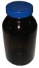500 ml amber bottle with teflon liner