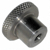 Stainless Steel Knob for Probe Support Arm 1/4-20 Thread Side