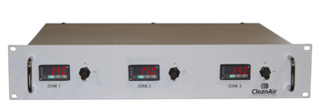 3 Zone Rack Mount Temperature Controller