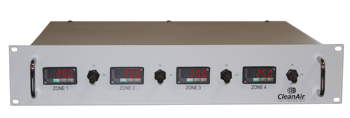 4 Zone Rack Mount Temperature Controller